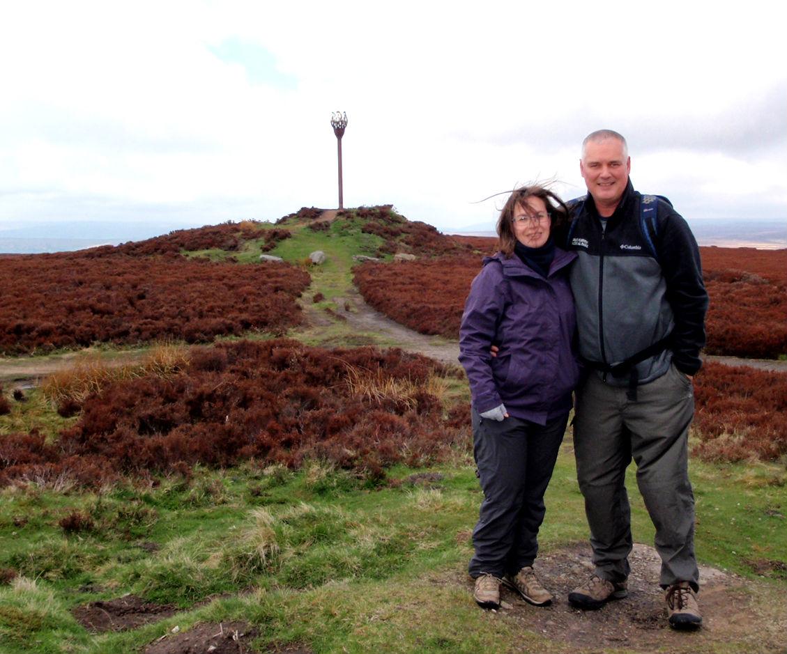 It was a bit windy on the moors.