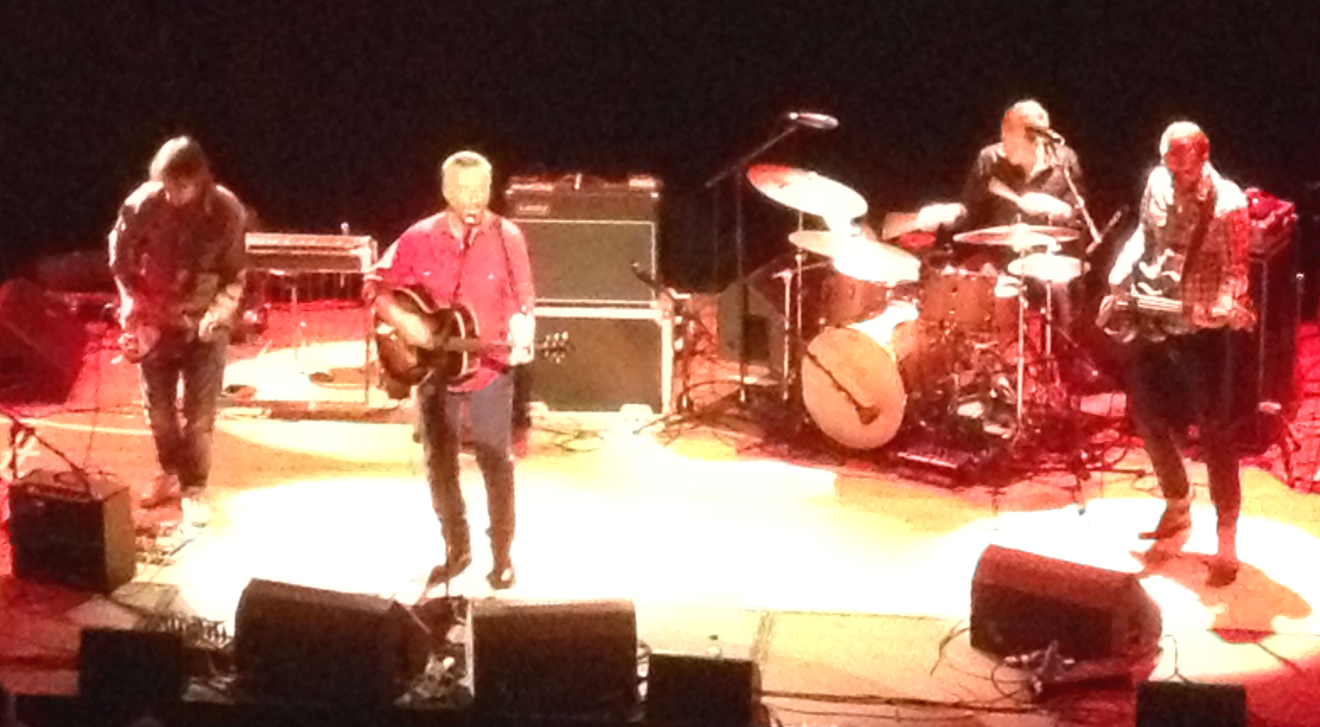 Billy Bragg, Queen's Hall, 3 June 2013  (I said good-ISH seats. )