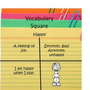 Vocabulary Square